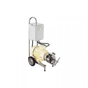 Pompy z elastycznym wirnikiem - model sanitarny R-10, 2 biegowy, monoblok