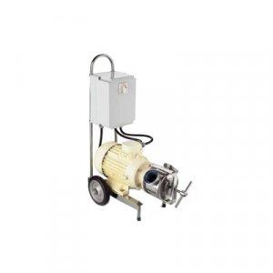 Pompy z elastycznym wirnikiem - model sanitarny R-20, 2 biegowy, monoblok