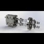 Pompa krzywkowa ZP1 z pojedynczym uszczelnieniem mechanicznym